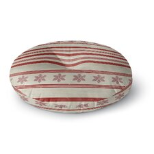 Holiday Stripes Floor Pillow