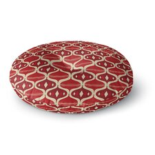Holiday Ogee Floor Pillow