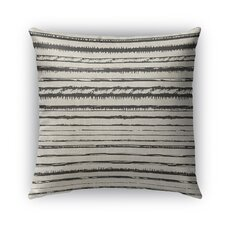 Bolzano Burlap Indoor/Outdoor Throw Pillow