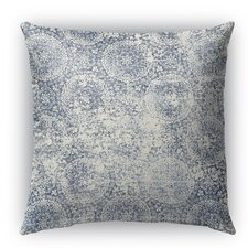 Monza Burlap Indoor/Outdoor Throw Pillow
