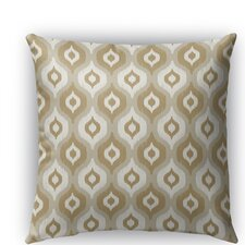 Harmony Burlap Indoor/Outdoor Throw Pillow