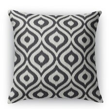 Ikat Ogee Throw Pillow
