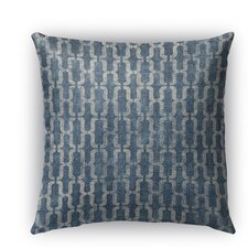 Como Burlap Indoor/Outdoor Throw Pillow
