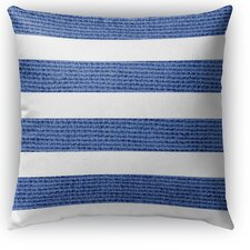 Modern Centerville Burlap Indoor/Outdoor Throw Pillow