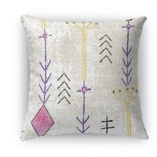 Mezouar Burlap Indoor/Outdoor Throw Pillow