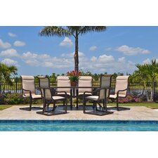 Today Sale Only Palms 7 Piece Dining Set