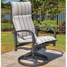 Terrabay Swivel Dining Arm Chair (Set of 2)