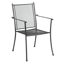 Cambridge Stacking Mesh Dining Arm Chair (Set of 4)
