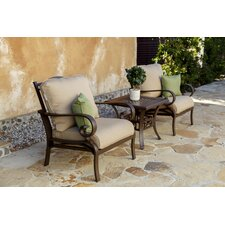 Riva Lounge Chair with Cushion (Set of 2)