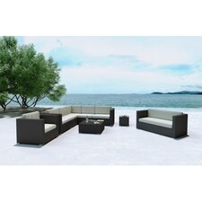 Haiken 5 Piece Sectional Seating Group with Cushion