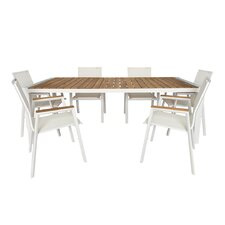 Santino 7 Piece Dining Set (Set of 7)