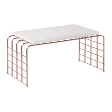 Perpetual Mesh Link Tall Coffee Table