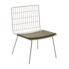 Perpetual Mesh Link Lounge Chair with Cushions