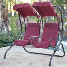 Bargain Porch Swing with Stand
