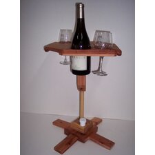 Today Sale Only Portable Wine Table with Stand