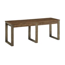 Desjardins Wood Dining Bench