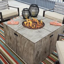 Lilah Polyresin Propane Fire Pit Table