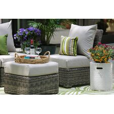 Valentin 5 Piece Armless Deep Seating Group with Cushion