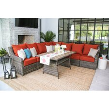 Valentin 8 Piece Deep Seating Group with Cushion