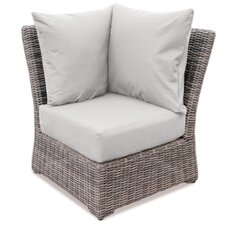 Valentin Corner Deep Seating Chair with Cushion