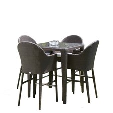 Vernonburg 5 Piece Dining Set with Cushions