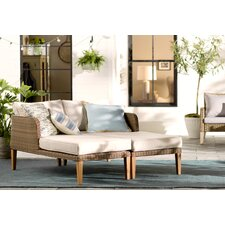 Nashville 2 Piece Lounge Chair Set with Cushion