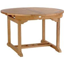 Elzas Teak Extendable Dining Table
