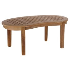 Peanut Teak Coffee Table