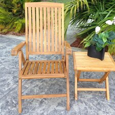 Miami Teak Dining Arm Chair