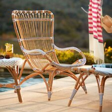 Dot Rattan Lounge Chair