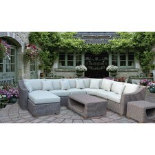 Highest Quality Assembled 8 Piece Deep Seating Group with Cushion