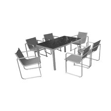 Modern 7 Piece Dining Set