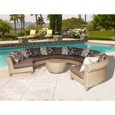 Assembled 7 Piece Deep Seating Group with Cushion