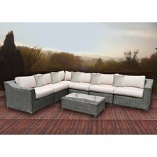 8 Piece Sectional with Cushions