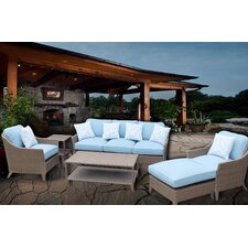 Best Choices Bayside Premium 6 Piece Deep Seating Group Set with Cushions