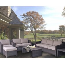Sonoma Elegantly Crafted Assembled 7 Piece Deep Seating Group with Cushions