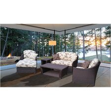 Bonita 6 Piece Deep Seating Group with Cushion