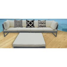 KQ Maui Deep Seating Sofa with Cushions