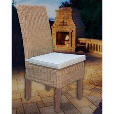 Santorini Dining Side Chair with Cushion (Set of 2)