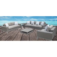Top Reviews Indo Mondern 5 Piece Sofa Seating Group