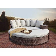 Roots Deluxe Overstuffed Daybed with Cushions