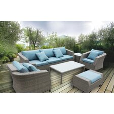 KQ Maui Finely Shapped 6 Piece Deep Seating Group with Cushion
