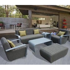 Miami Beach 5 Piece Deep Seating Group with Cushion