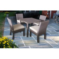 Herry Up Excel Elegantly Crafted 5 Piece Dining Set with Cushions