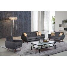 Lola 3 Piece Living Room Set
