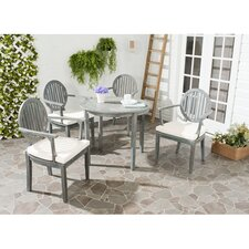 Chino 5 Piece Dining Set with Cushions