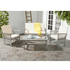 Find Rocklin 4 Piece Seating Group with Cushions