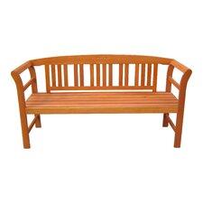 Harland 3-Seater FSC-Certified Eucalyptus Grandis Garden Bench