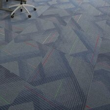 """Orono 24"""" x 24"""" Carpet Tile in Brilliant"""
