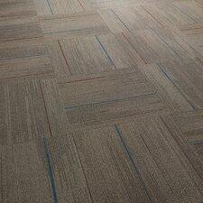 "Milton 24"" x 24"" Carpet Tile in Glory Days"
